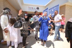 Палестинские гости в MOAR